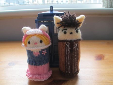Doctor Who: Ten and Rose 'The Idiot's Lantern' by fourthimbles