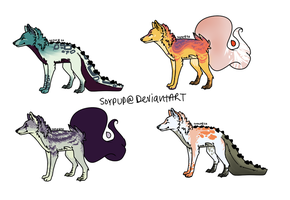 Adoptables batch o3o by soyPup