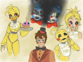 Five nights at Freddy's 2 by aggieandco