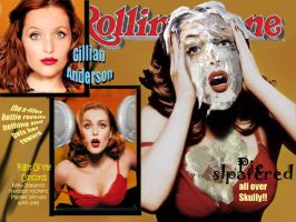 Gillian Anderson Rolling stone by trotterpm