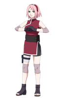 The last Naruto the movie - Sakura Haruno by S-I-M-C-A