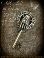 Hand of the King Keys- For sale NOW :D by ArtByStarlaMoore