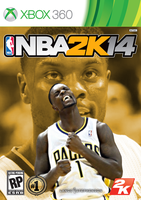 Lance Stephenson NBA2K14 Cover - XBOX360 by 1madhatter