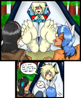 And thus camping trip got better! by DatFilthySora