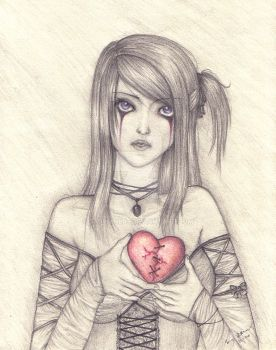 I give you my broken heart by sapphire07