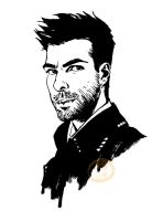 Zachary Quinto by oxboxer