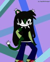 Kosame the Cat by AngeltheDeranged