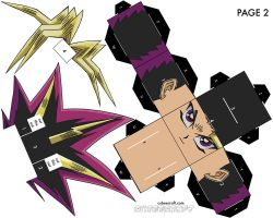 Yami Yugi - Page 2 of 2 by cubeecraft