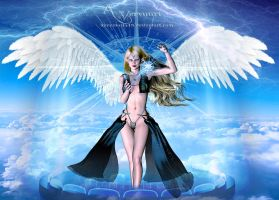 The Elven Hologram Angel by annemaria48