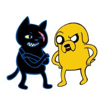Jake and Salem by KickMePlease