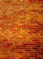 Warm Brick Wall Texturation #01 by DonnaMarie113