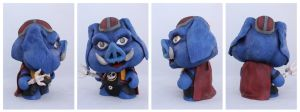 Ganon Munny by IncredibleCreature