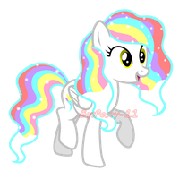 [Comission] Snowflake Rainbow by Posey-11