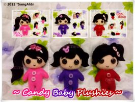 Candy Baby Plushies... by SongAhIn
