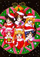Sailor Moon X-mas by Fighter-chan