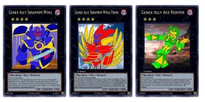 My Pseudo-Numbers Genex Ally Cards by imadmagician