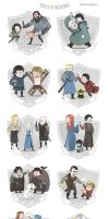 The Teams of Westeros by missqueenmob