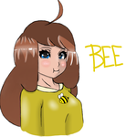 Bee Fan Art by cha0t1ck1ng