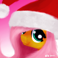 a Fluttery Christmas! by Lumicorn