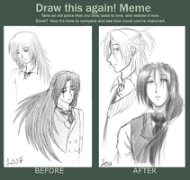 Aki Tsume Redraw 2007:2011 by LightDarkSoySauce
