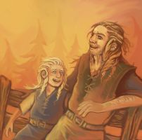 Fili and Frerin by shinigami714