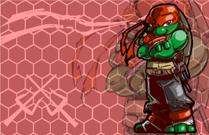 Raphael (TMNT)-A Skipperwing Treatment by SkipperWing