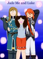 My ID Jade Me and Luke by animelover4343