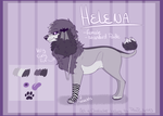 Helena Reference Sheet by PinkPoodle543