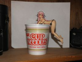 Super Sonico Noodle Stop by dcolb121
