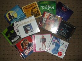 My Broadway Musicals CD S by jay3jay