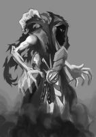 Death reaper monster thing by HouEvil