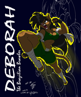 Deborah will catch you. by Drawing-4Ever