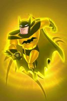 Sinestro Lantern Batman by KalEl7