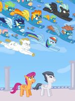 Wonderbolts Are Go by Mighty355
