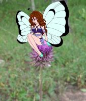 Fairy on a Flower 2 by ayas-shadow