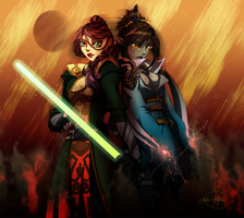 Collab: Double Trouble by JLMagian
