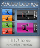 DC adobe  icons by trio-3 by TRIO-3