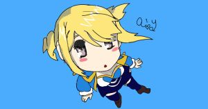 My drawing of Lucy from Fairy Tail by pokemonfreak2