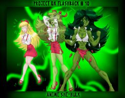 Flashback #10--Anime She-Hulk by ProjectQK