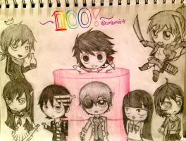 The Lucky #100 by cmbmint