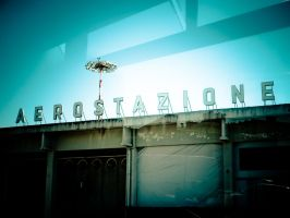 Airport in Pisa, Italy 2008 by slcrawford