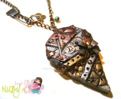 Mechanical Ice-Cream necklace by colourful-blossom