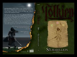 Silmarillion Cover Final..? by FirePenguinMaster