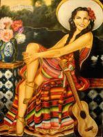 Mexican Lady by ArtisticObsession