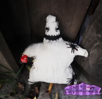 Oogie Boogie plush by Dollface-RYJ