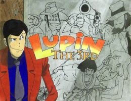 Lupin the 3rd by VitoTheCat