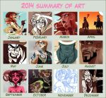 2014 Art Summary by JackPot-84