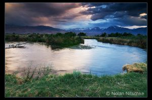 Owens River Sunset by narmansk8