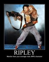 Ripley Demotivational by Dead-Metal