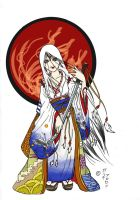 Amaterasu Omikami- Sun Goddess by Intergral810